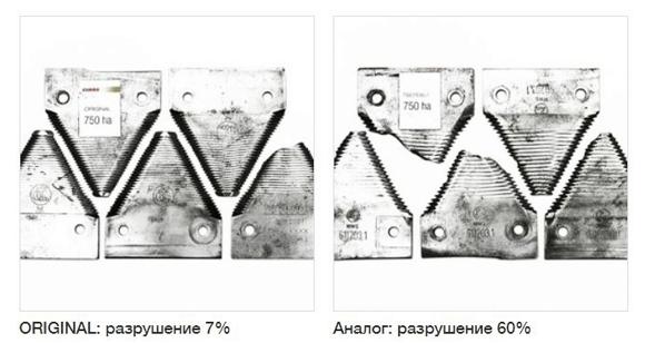 Сравнение ножей ORIGINAL и аналогов